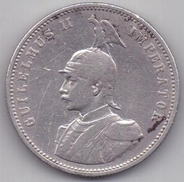 1 рупия 1893 г. редкий год. Германская Восточная Африка