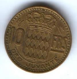 10 франков 1950 г. Монако