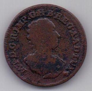 1 лиард 1757 г. Люксембург. Австрия