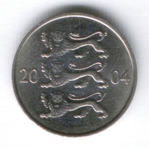 20 сентов 2004 г. Эстония