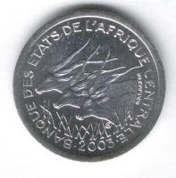 1 франк 2003 г. Центральные Африканские штаты