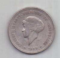 5 франков 1929 г. Люксенбург