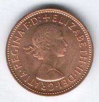 1/2 пенни 1967 г. Великобритания