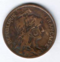 10 сантимов 1901 г. редкий год Франция