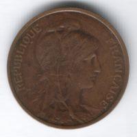 5 сантимов 1909 г. Франция