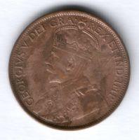 1 цент 1913 г. Канада