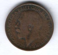 1/2 пенни 1919 г. Великобритания