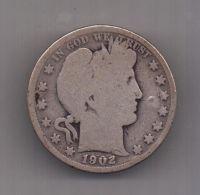 1/2 доллара 1902 г. США