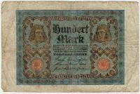 100 марок 1920 г. Германия