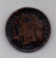 1 пиастр 1881 г. Кипр. Великобритания