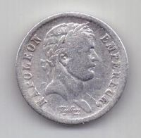1/2 франка 1808 г. XF. Франция