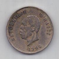 10 сантимов 1906 г. Гаити