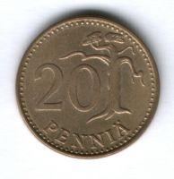 20 пенни 1980 г. Финляндия