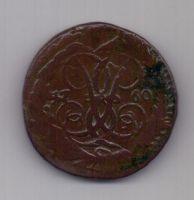 2 копейки 1760 г. редкий год + перечекан