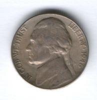 5 центов 1946 г. D США