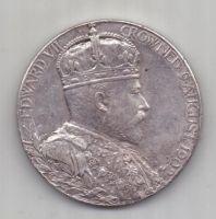 медаль 1902 г. Великобритания