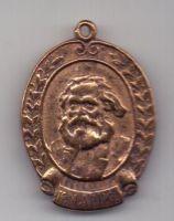 жетон 1918 г. К. Маркс. 100 летие. 1818-1918.