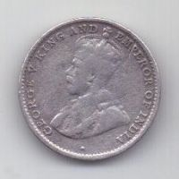 10 центов 1924 г. Цейлон . Великобритания