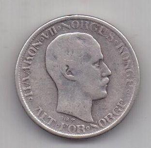50 эре 1918 г. Норвегия