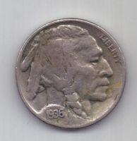 5 центов 1936 г. D. США