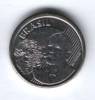 50 сентаво 2009 г. Бразилия