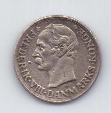 10 эре 1912 г. Дания