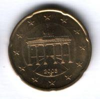 20 евроцентов 2003 г. G  Германия