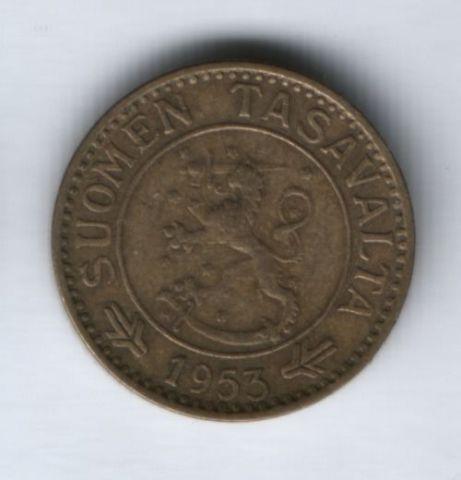 10 марок 1953 г. Финляндия