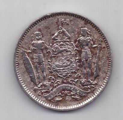 5 центов 1903 г. Борнео