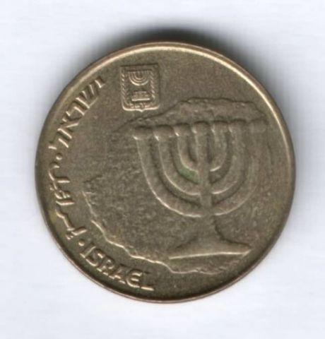 10 агорот Израиль 1985-2000 гг.