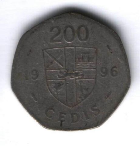 200 седи 1996 г. Гана