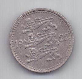 1 марка 1922 г. Эстония