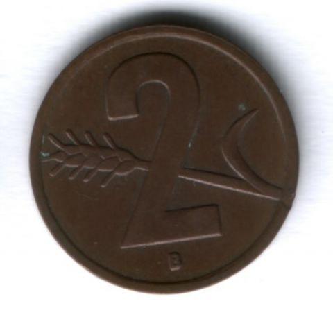2 раппена 1951 г. Швейцария