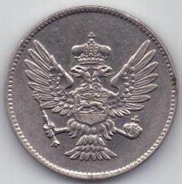 20 пара 1908 г. Черногория
