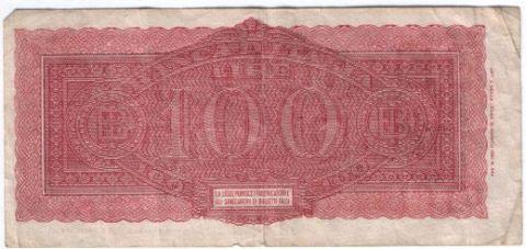 100 лир 1944 г. Италия