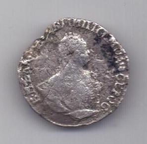 гривенник 1751 г. R!