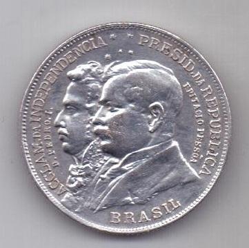 2000 рейс 1922 г. AUNC Бразилия