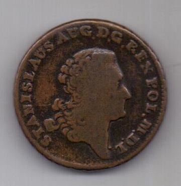 3 гроша 1766 г. Литва. Польша.