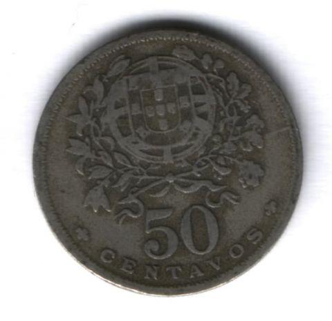 50 сентаво 1940 г. Португалия