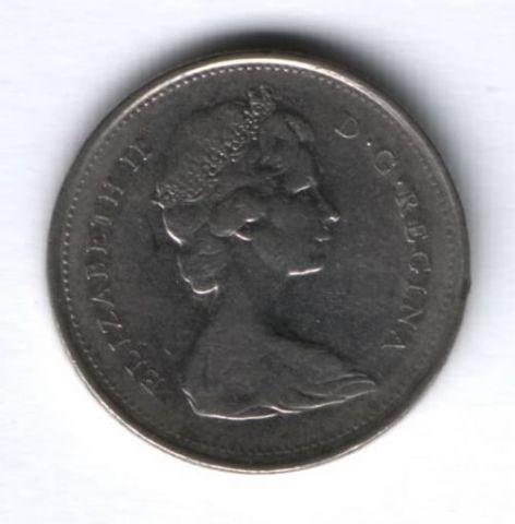 25 центов 1968 г. Канада