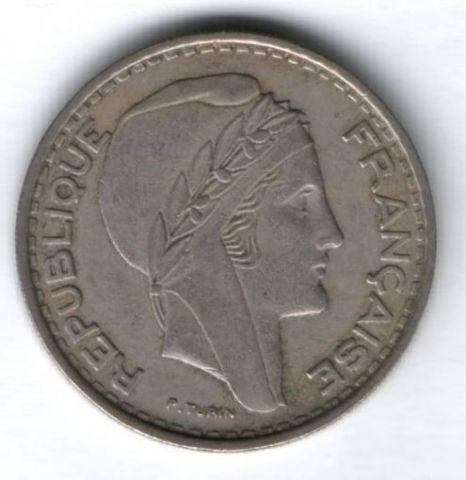 100 франков 1950 г. Алжир