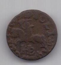 1 солид 1667 г. Литва. Польша