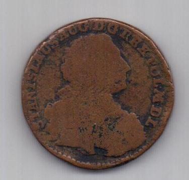 3 гроша 1766 г. редкий тип. Литва. Польша.