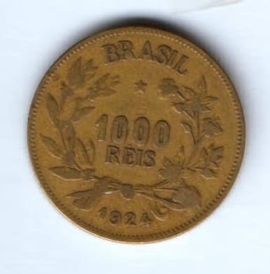 1000 рейс 1924 г. Бразилия