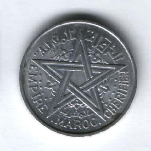 2 франка 1951 г. AUNC Марокко