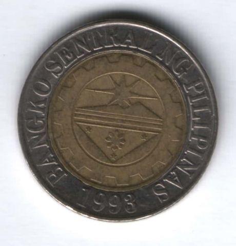 10 песо 2011 г. Филиппины