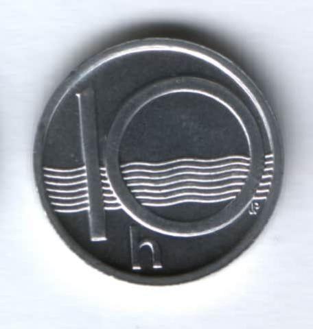 10 геллеров 2001 г. Чехия