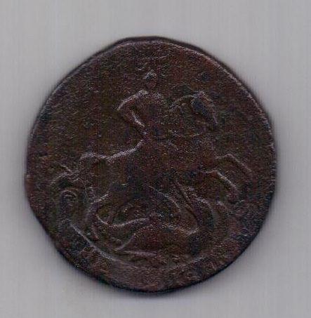 2 копейки 1758 г. R! гуртовая надпись.