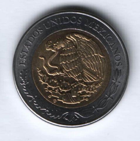 5 песо 2011 г. Мексика, UNC