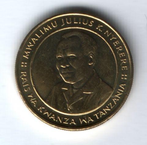 100 шиллингов 1994 г. Танзания AUNC